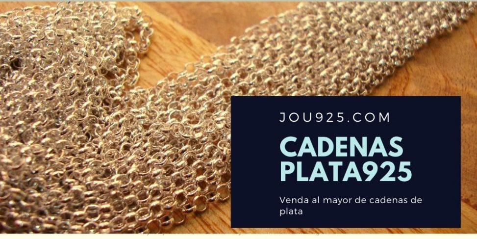 CADENAS PLATA 925