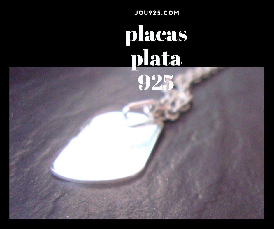 placas plata